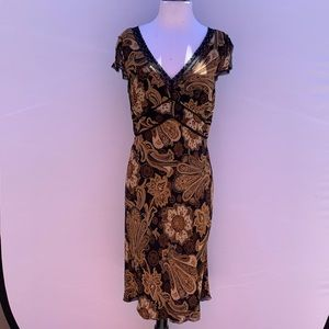 INC Paisley Lace Dress Size 14
